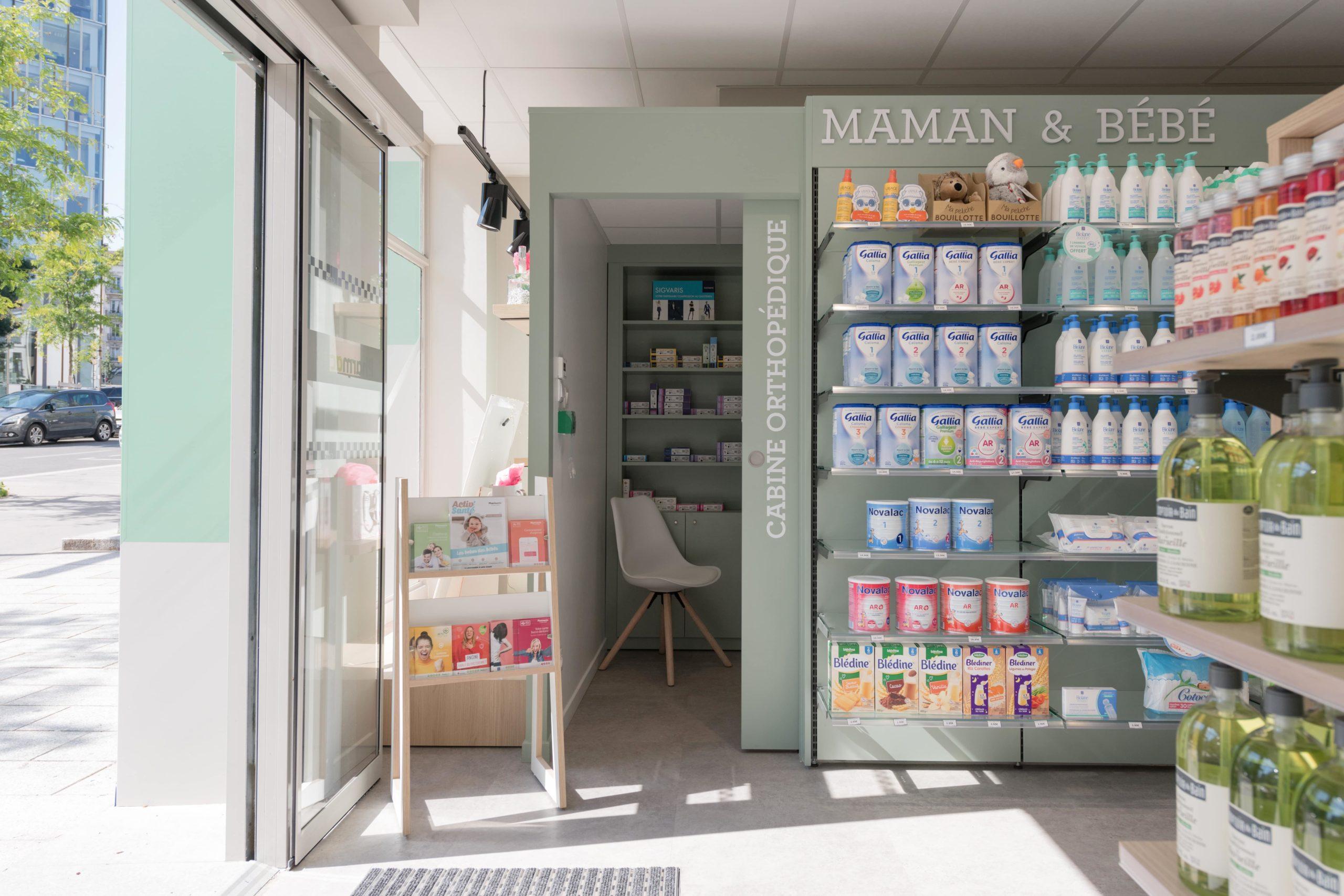 Agencement Pharmacie de la Gare