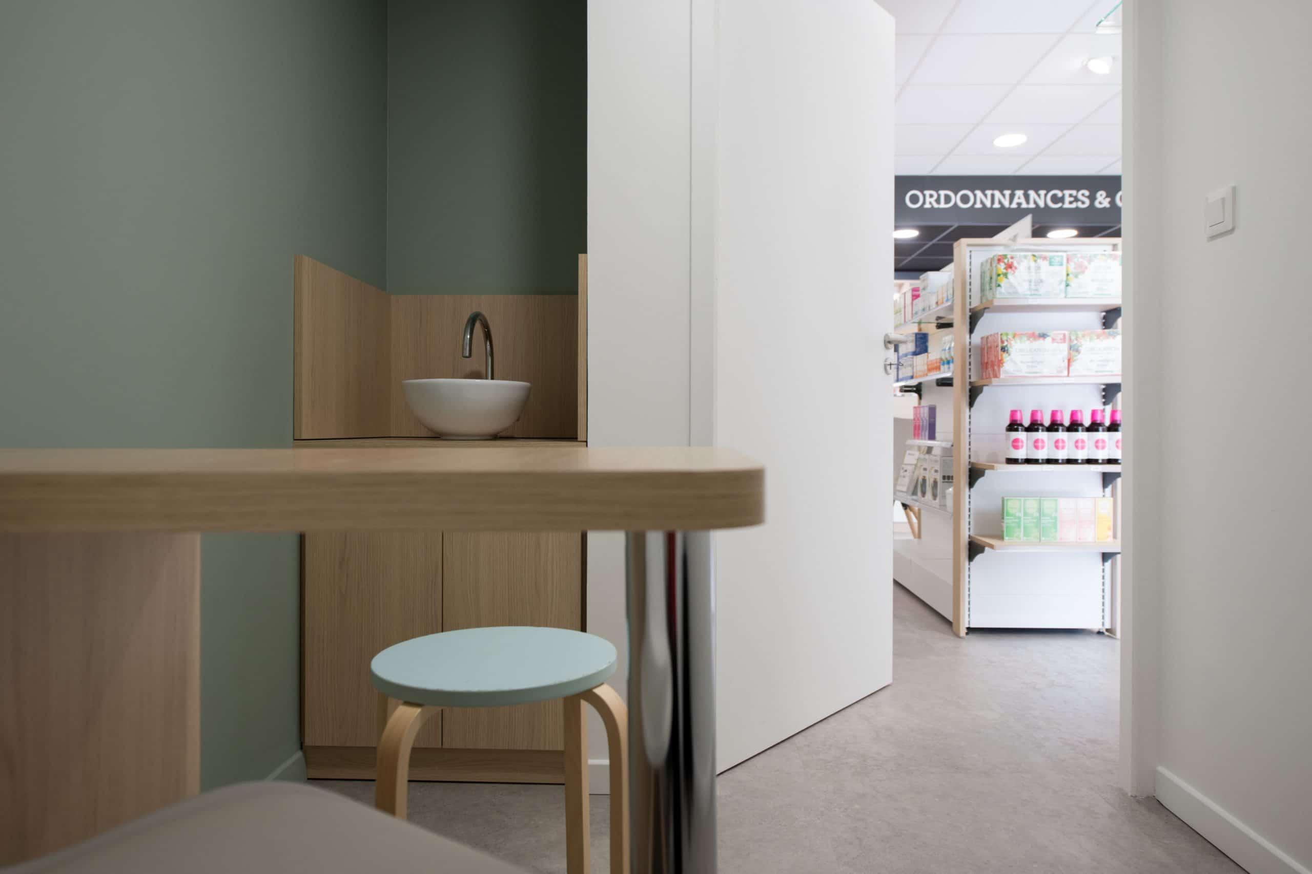 Espace confidentiel de la pharmacie de la Gare